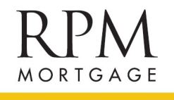 RPM White Logo