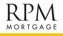 RPM White Logo