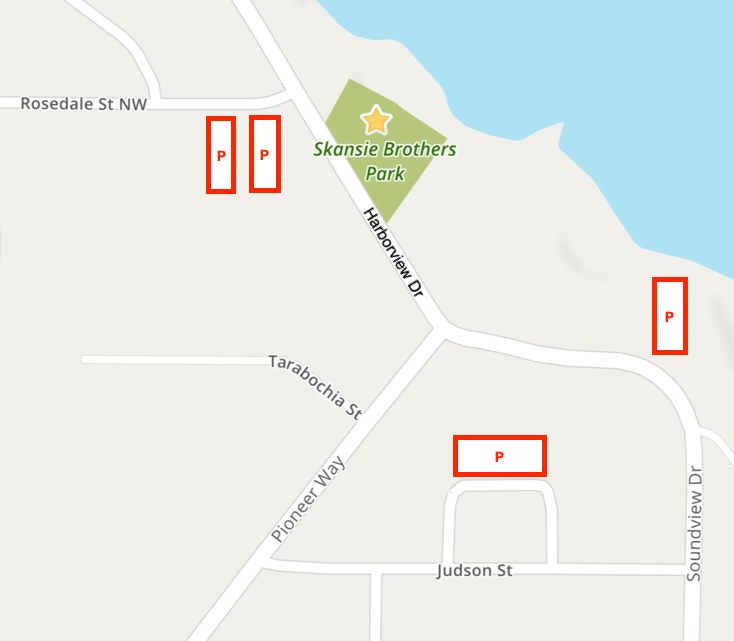 Paddlers Cup Parking