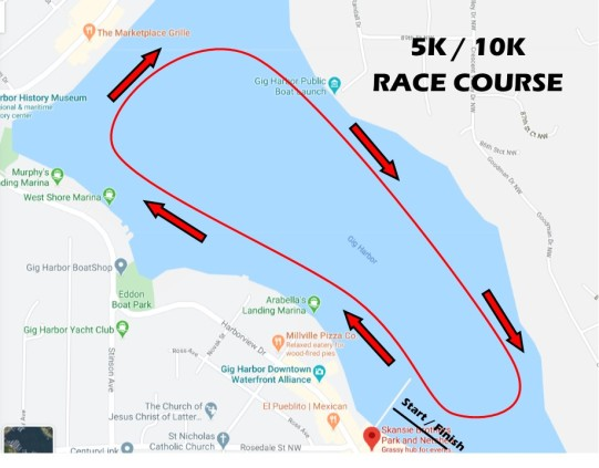 Paddlers Cup 5K_10K Course