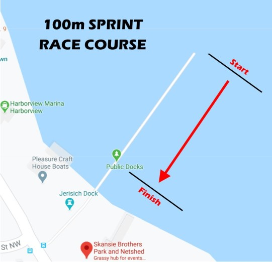 Paddlers Cup Sprint Course